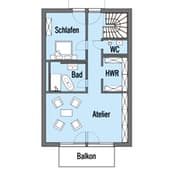 Erstling (Kundenhaus) Grundriss