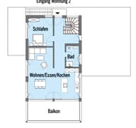 Erstling - Kundenhaus Grundriss