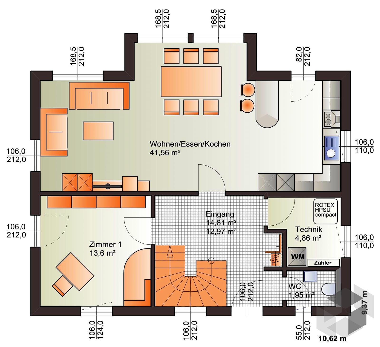 esprit 149 von b renhaus komplette daten bersicht. Black Bedroom Furniture Sets. Home Design Ideas