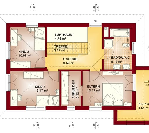 Evolution 135 V7 floor_plans 0