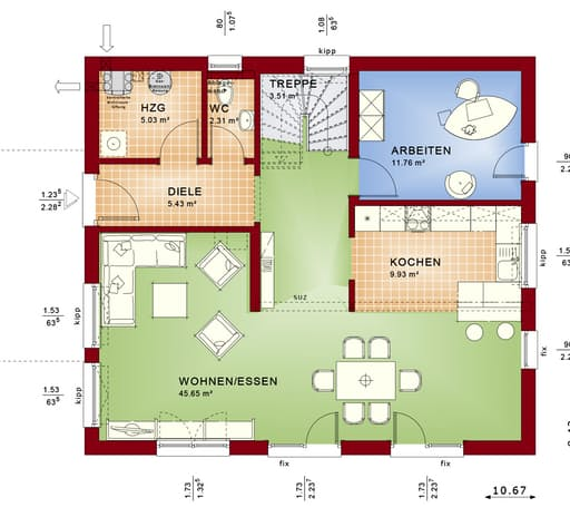 Evolution 165 V5 floor_plans 1