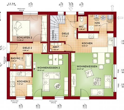 Evolution 208 V6 floor_plans 1