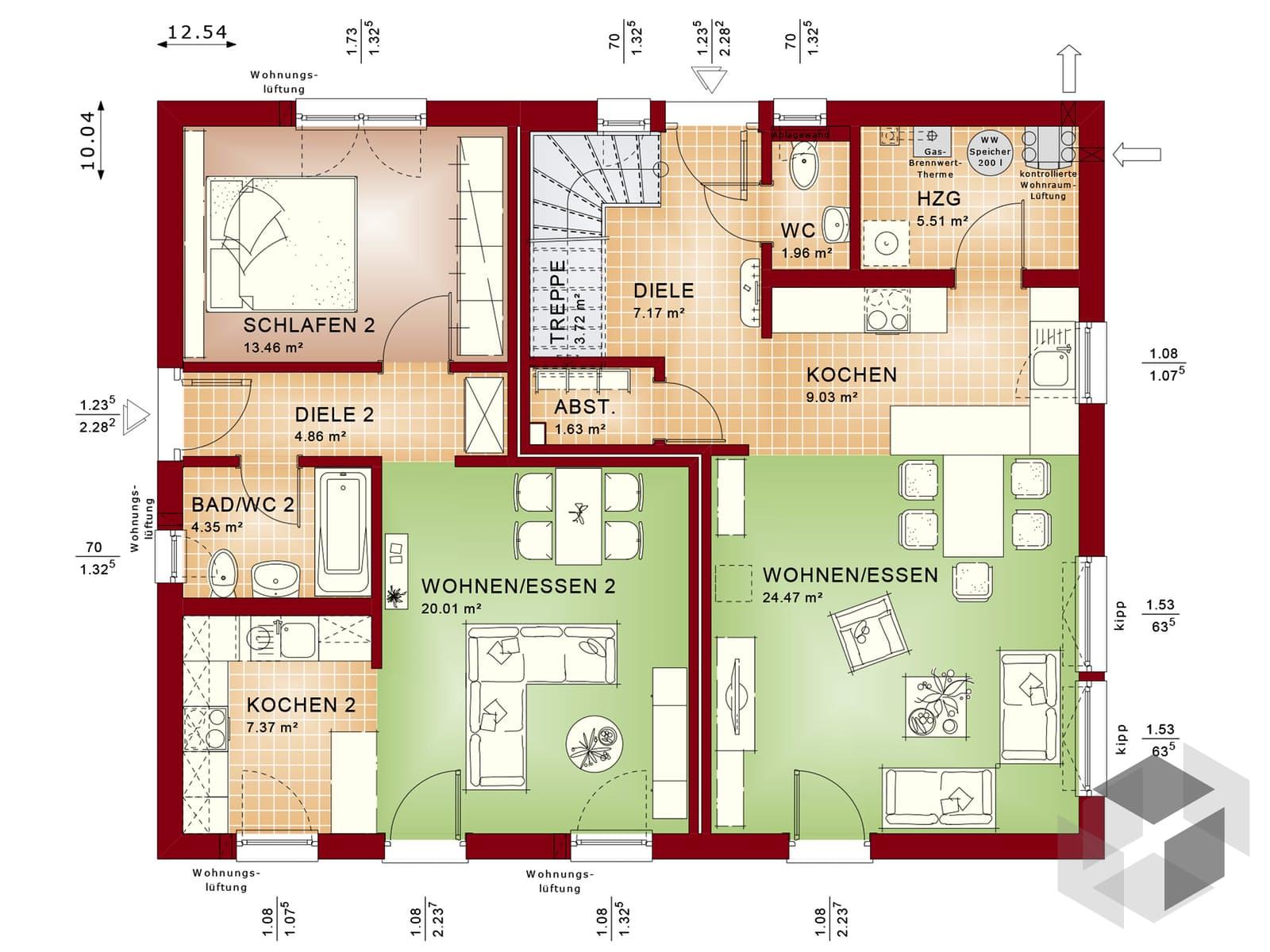 evolution 207 v6 von bien zenker komplette daten bersicht. Black Bedroom Furniture Sets. Home Design Ideas