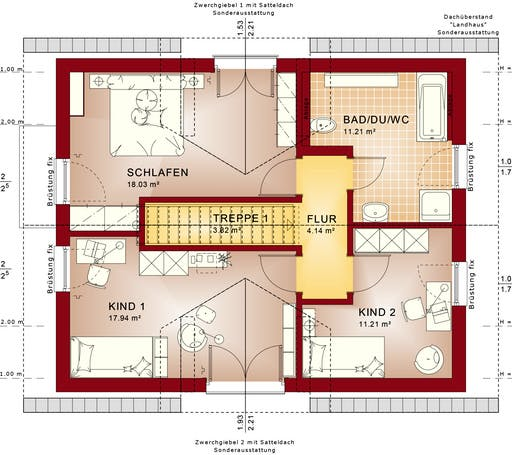 Evolution 134 V2/V4 Floorplan 2