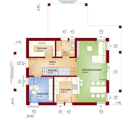 Evolution 134 V7 Floorplan 1