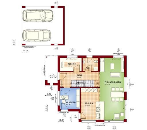 Evolution 134 V8 Floorplan 1