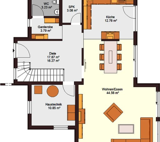 Family 160 inactive von zimmermann haus komplette for Floor plans for 160 000