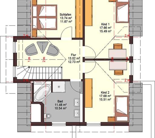 Family 160 Floorplan 2