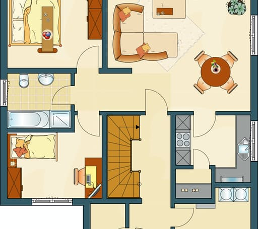 FAMILY 280 W Floorplan 1
