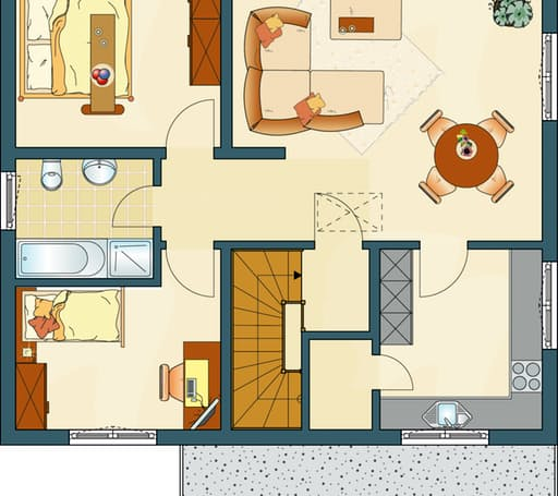 FAMILY 280 W Floorplan 2