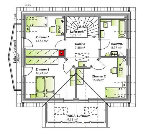 Family V Floorplan 2