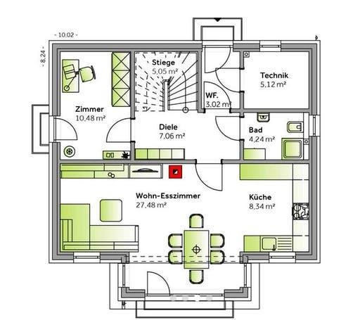 Family VI Small Floorplan 1