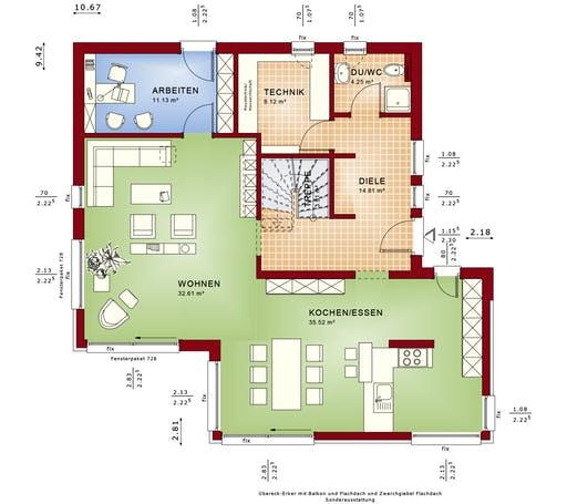 Fantastic 163 v4 von bien zenker komplette for Floor plans for 160 000