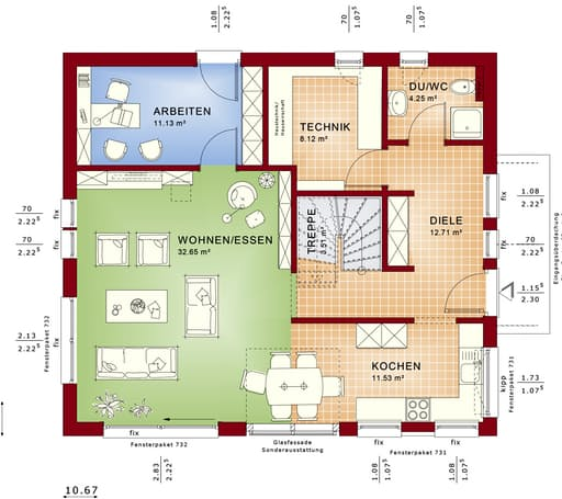 Fantastic 163 V5 floor_plans 0