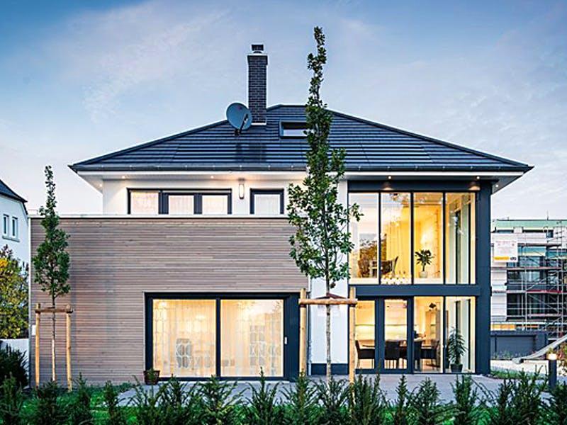 Moderne Stadtvilla von Favorit Massivhaus