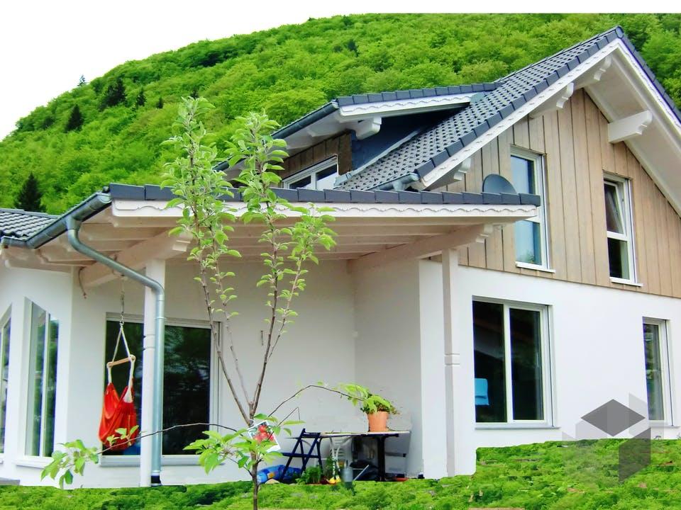 Feldberg von Tirolia Blockhaus Außenansicht