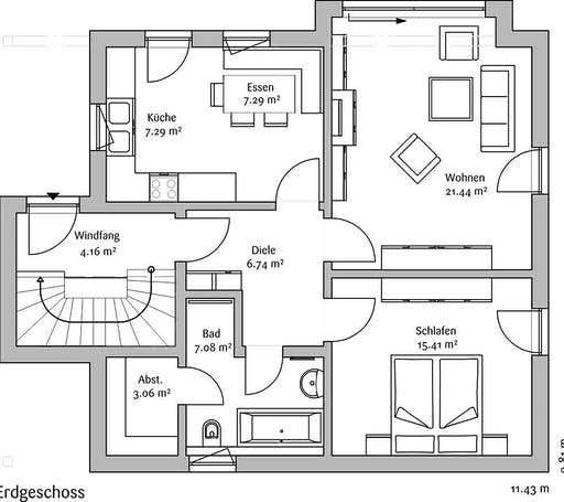 Fischerhaus - Allgäu Floorplan 1