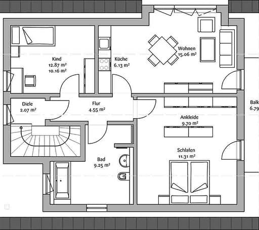 Fischerhaus - Allgäu Floorplan 2