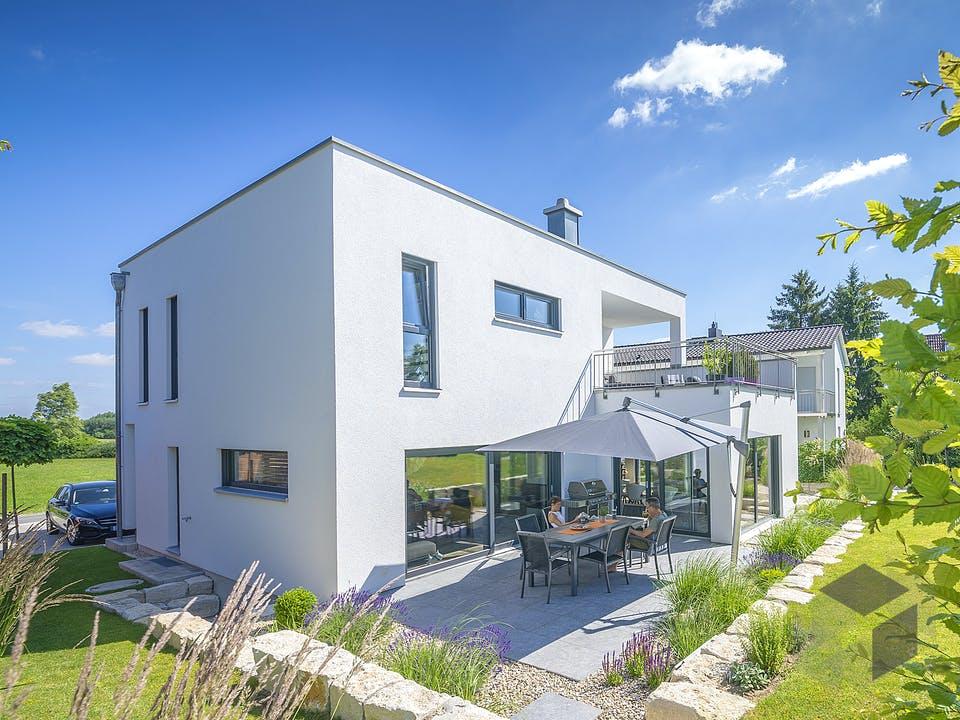 Bauhaus 190 von FischerHaus Außenansicht