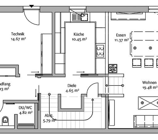 Fischerhaus - Bauhaus 200 Floorplan 1