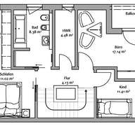 Bauhaus 200 Grundriss