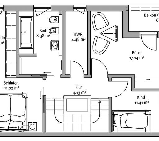 Fischerhaus - Bauhaus 200 Floorplan 2