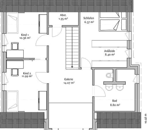 Fischerhaus - Klassisch 148 Floorplan 2