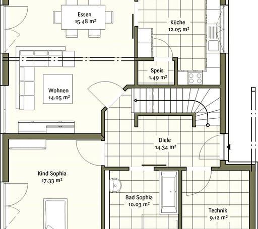 Fischerhaus - Klassisch Sophia Floorplan 1