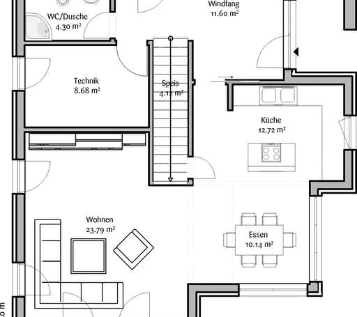Fischerhaus - Lastructura Orchis Floorplan 1