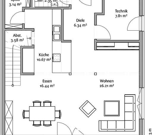 Fischerhaus - Latosca Armeria Floorplan 1