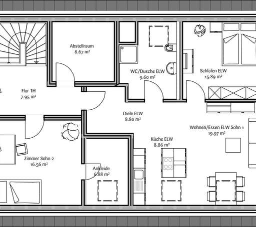 Fischerhaus - Lavita Familia Floorplan 2