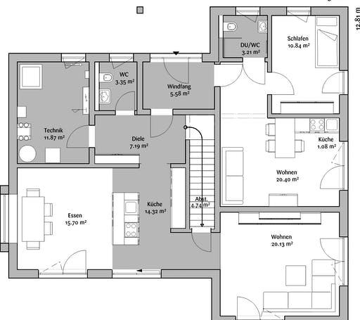 Fischerhaus - MH CubeX Floorplan 1