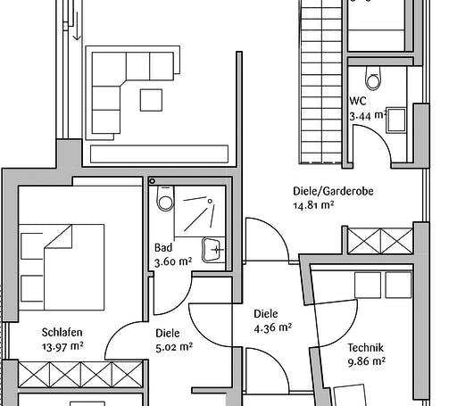 Fischerhaus - MH GenerationX Floorplan 1