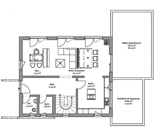 Fischerhaus - MH Seegarten Floorplan 1