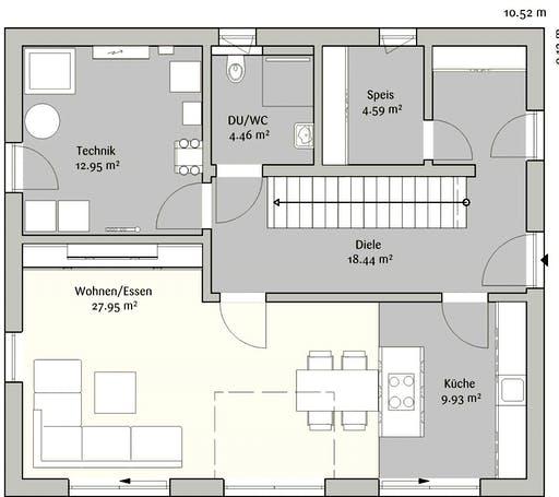 Fischerhaus - Modern 145 Floorplan 1