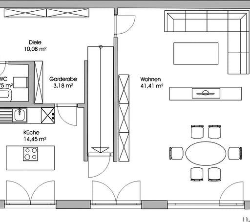 Fischerhaus - Nolina Floorplan 1