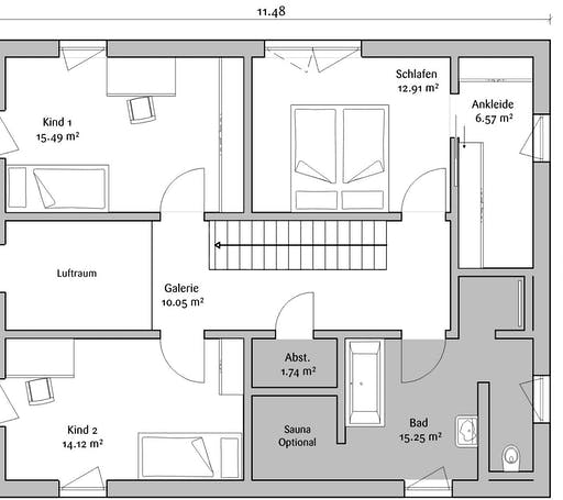 Fischerhaus - Stadtvilla 160 Floorplan 2