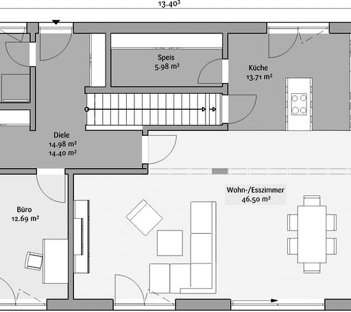Fischerhaus - Stadtvilla 212 Floorplan 1