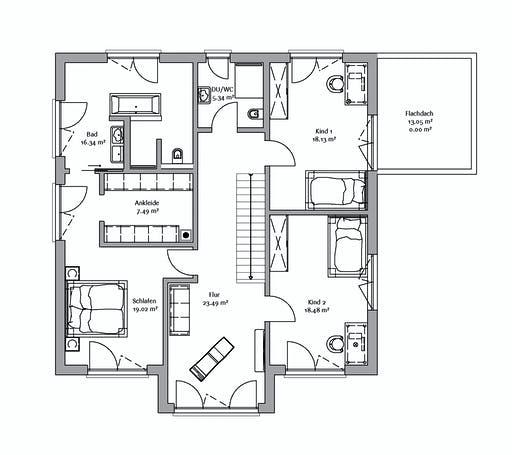Fischerhaus - Stadtvilla 247 Floorplan 2