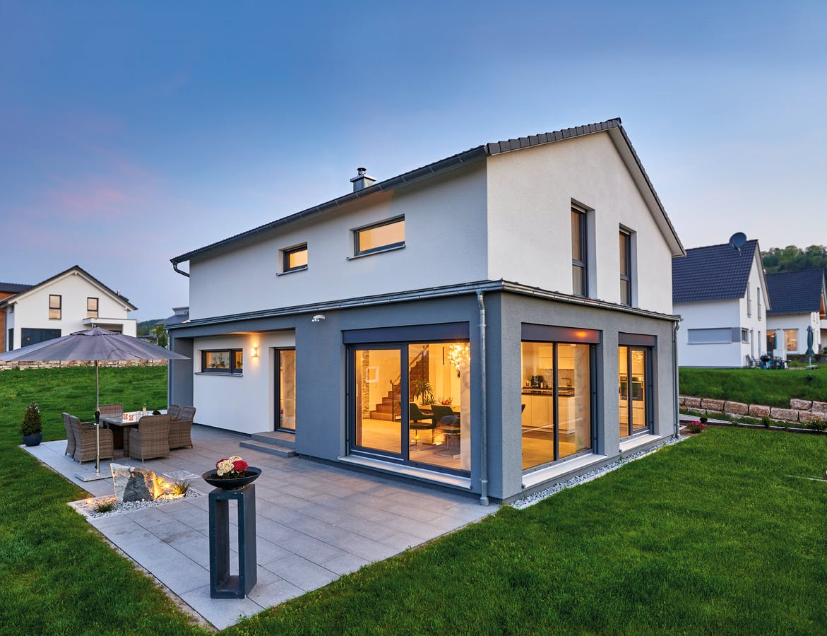Einfamilienhaus von Fertighaus Weiss
