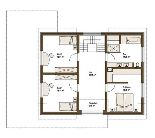 FH Weiss - Musterhaus Günzburg Floorplan 2