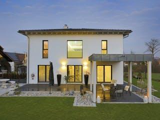Haus Tursellino von Fertighaus WEISS Außenansicht 1