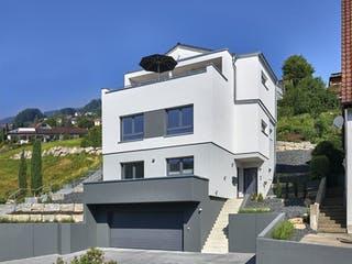 Haus Wied von Fertighaus WEISS Außenansicht 1