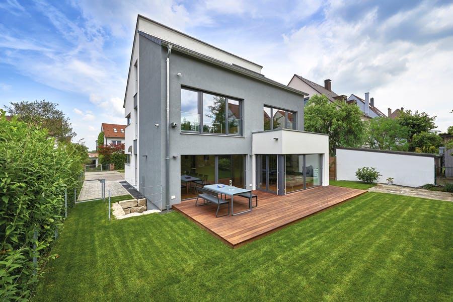 Projekt Traumhaus in zwei Schritten