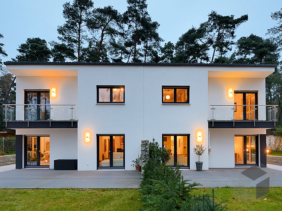 Haus Knüpfer/Schmenger von Fertighaus WEISS Außenansicht