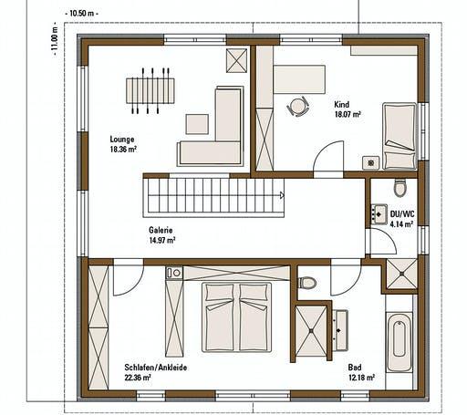 Fertighaus Weiss - MH Relax Fellbach Floorplan 2