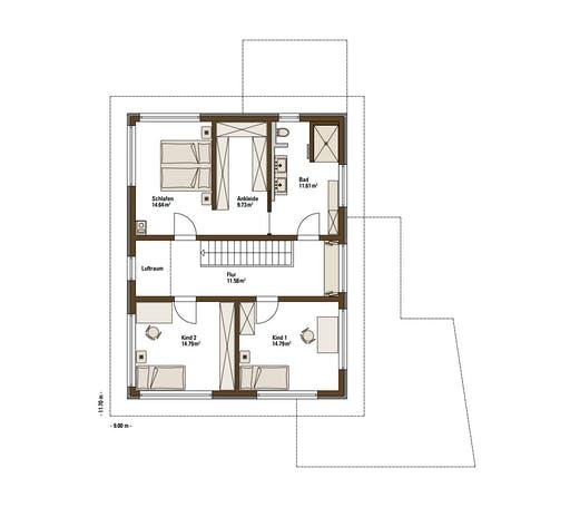 Fertighaus Weiss - MH Balance Poing Floorplan 2