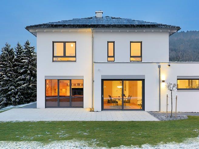 Haus Schmidt von Fertighaus WEISS Außenansicht 1