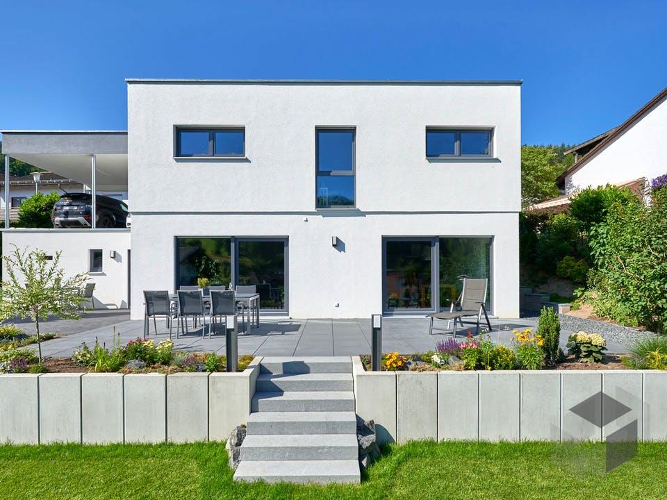 Haus Schneider von Fertighaus WEISS Außenansicht