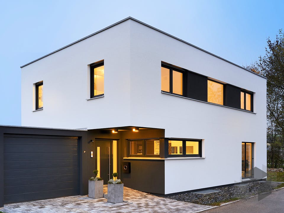 Haus Spöri von Fertighaus WEISS Außenansicht